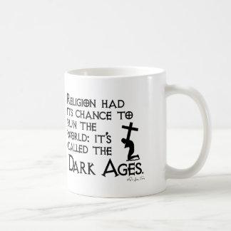 Religion Gave Us The Dark Ages 2 Basic White Mug