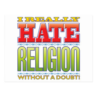 Religion Hate Post Card