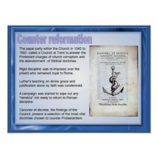 Religion, History, Counter Reformation Poster