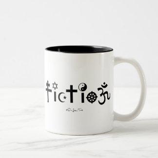 Religion is Fiction Coffee Mug