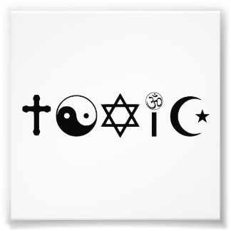 Religion Is Toxic Freethinker Photograph