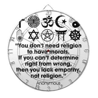 Religion Morals Dart Board