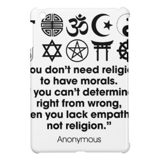 Religion Morals iPad Mini Cover