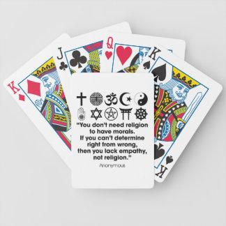 Religion Morals Poker Deck