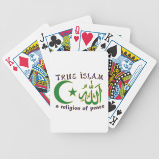 Religion Of Peace Bicycle Playing Cards