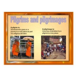 Religion, Pilgrims and pilgrimages Postcard