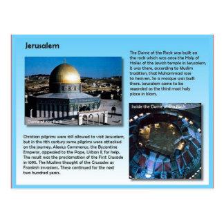 Religion, Pilgrims to Jerusalem Postcard