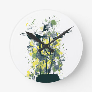 religion statue clocks