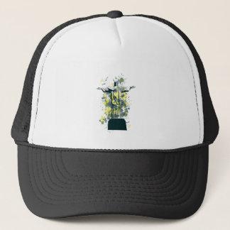 religion statue trucker hat