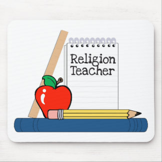 Religion Teacher (Notebook) Mouse Pad