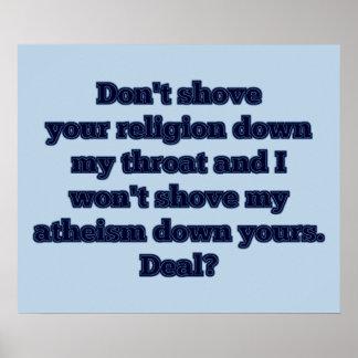 Religion VS. Atheism, part 2 Poster