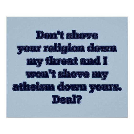 Religion VS. Atheism, part 2 Posters