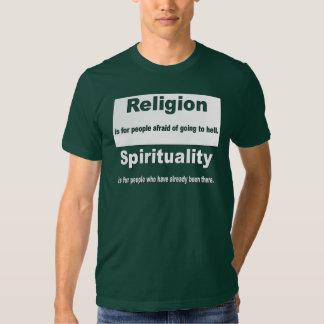 Religion vs. Spirituality T Shirt