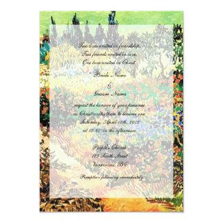 Religion's wedding invitation card