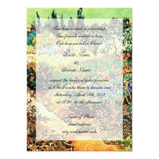 Religion's wedding invitation custom invitation