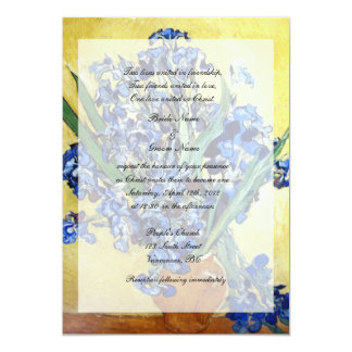 Religions wedding. Vincent van Gogh Personalized Invites