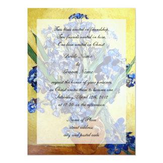 Religions wedding. Vincent van Gogh Announcements