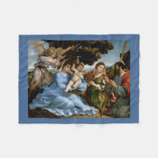Religious Art fleece blanket