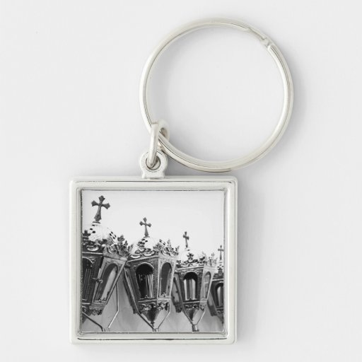 Religious artifacts key chains