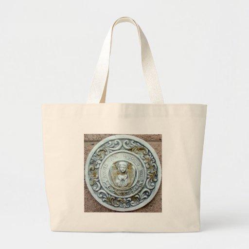 religious canvas bag