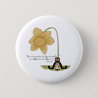 Religious Bee 6 Cm Round Badge