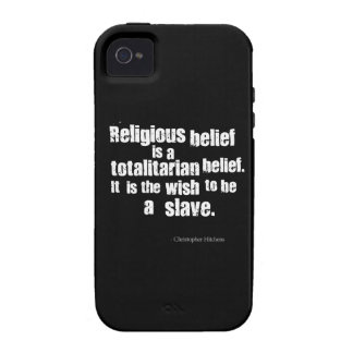 Religious Belief is a Totalitarian Belief. iPhone 4/4S Cover