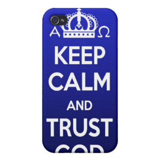 Religious Christian iPhone 4 Case Cover Keep Calm