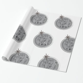 Religious Christmas Scripture Wrapping Paper