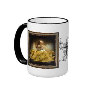 religious coffee cup ringer mug