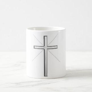 Religious Cross Cup Basic White Mug