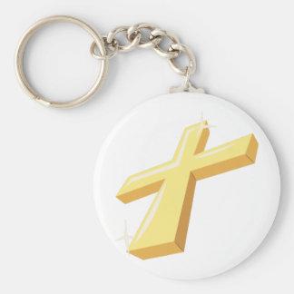 Religious Cross Key Chain