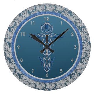 Religious Cross Wall Clock