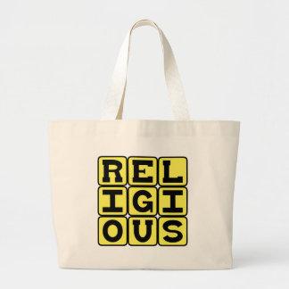 Religious, Devout Believer Bags