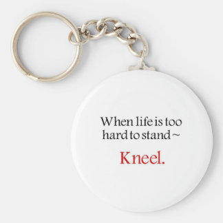 Religious gifts basic round button key ring