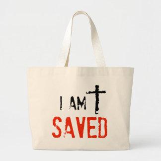 Religious I Am Saved Bags
