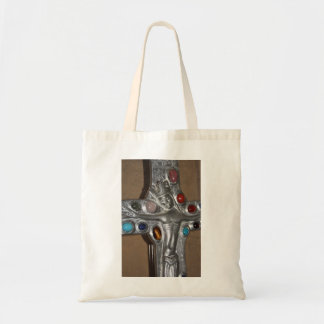 Religious Icon studded with gems Tote  Bag