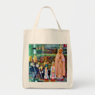 RELIGIOUS ICONS - LISBON Grocery Tote Bag