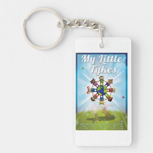 Religious keychain My Little Tyke (globe)