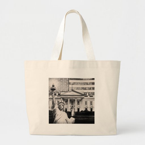 Religious Liberty In America Canvas Bags