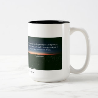 Religious Two-Tone Coffee Mug