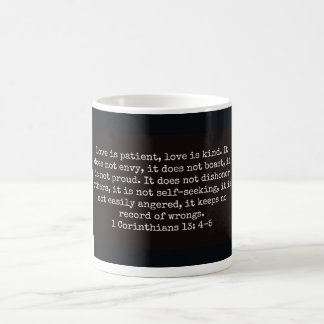 Religious Mug, Love Coffee Mug