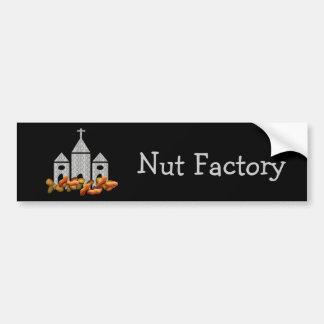 Religious Nuts Bumper Sticker