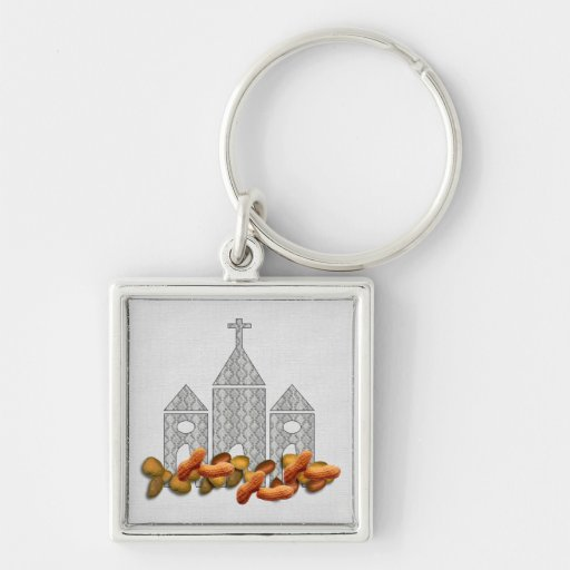 Religious Nuts Keychains