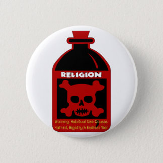 Religious Poison 6 Cm Round Badge