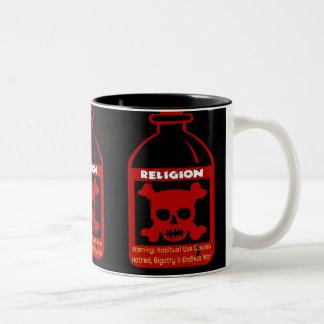 Religious Poison Two-Tone Mug