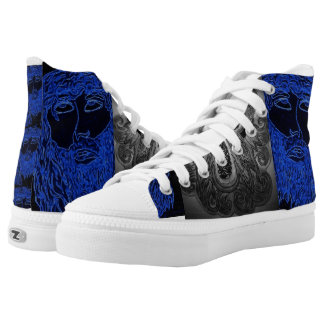 religious printed shoes