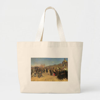 Religious Procession in Kursk Province Tote Bags