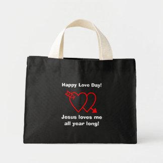 Religious Quotes Inspirationals Mini Tote Bag