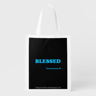 Religious Quotes Reusable Grocery Bags