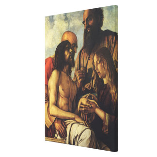Religious Renaissance, Pieta by Giovanni Bellini Canvas Print